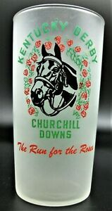 1953 KENTUCKY DERBY GLASS  - IT LOOKS UNUSED TO ME