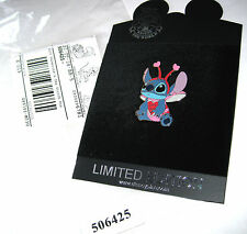 New LE Disney Pin Love Bug Lilo & Stitch Valentine's Day Halloween Costume Heart
