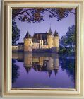 Jim Buckels SULLY-SUR-LOIRE Painting On Canvas Signed Dated Numbered Framed