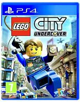 LEGO City Undercover PS4 PlayStation 4 Brand New Factory Sealed Spy Action