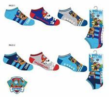 Paw Patrol Boys Ankle Socks 3 Pack