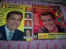 TV Radio Mirror Magazine Dick Clark Elvis Presley August June 1958 Paul Anka