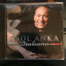 Italiano by Paul Anka Music CD FREE SHIPPING