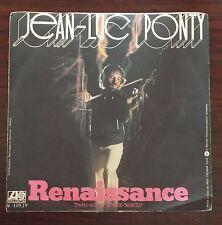 "50028 45 giri - 7"" - Jean-Luc Ponty - Reinassance - New Country - Atlantic 1976"