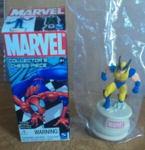 Wolverine Marvel collectors chess piece 2005 NOS MINT IN PLASTIC