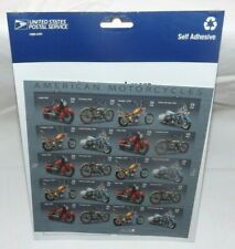 (Sealed Sheet of 20) USPS American Motorcycles Commemorative Postage Stamps