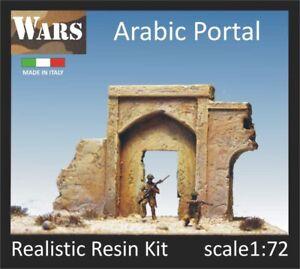 WARS 5-72 Portale arabo resina guerra diorama WW2 Arabic portal 1:72