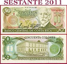 COSTA RICA   -    50 COLONES 15.7. 1987    -   P 253  -    FDS / UNC