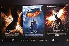 Batman Trilogy The Dark Knight Rises Begins Original AMC Limited Edition Poster