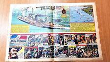 1956 Eagle Comic Vol 7 No 9: Dan Dare H.M.CRUISER 'AJAX' - 2nd March