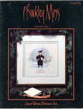 P. Buckley Moss - Graduation Boy - Cross Stitch Leaflet #122 1991