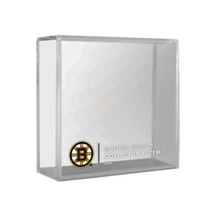 Boston Bruins Official NHL Collectors Presentation Display Case for Single Puck