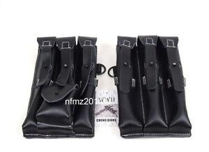 Replica WWIIGerman Pouch Leather Black