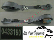 Kia Rio - 5dr - Middle Rear Seatbelt / Seat Belt - Grey - 0433190