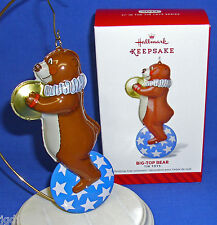 Hallmark Series Ornament Pressed Tin Toys #1 2014 Big Top Bear Circus Unicycle