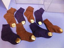 8 Pairs Paramount Bear Brand Box Kid Socks 1950s Vtg Nos Deadstock Usa