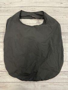 COS Black Fabric Shopper Bag