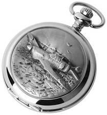 Woodford 'Hurricane' Chrome Plated Hunter Pocket Watch. Mechanical . ref 1892/S