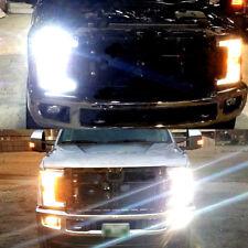 6PC 6000K Xenon White LED Headlight + Fog Lights Bulbs For 2017 2018 F250 F350