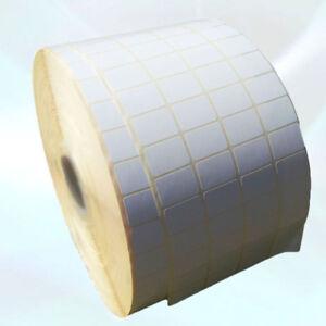 Blank White Self Adhesive Sticky Address Printer Labels Rolls 38 X 25mm