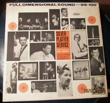 Capitol Records Promo Silver Platter Service April 64 Lp Record side 99 & 100