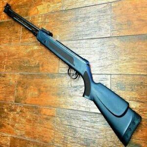 Defender Air rifle 22 caliber safety lock 5.5 all black 470-570 FPS Pump action