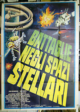 manifesto 4F film BATTAGLIE NEGLI SPAZI STELLARI Alfonso Brescia 1978