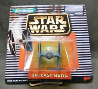 Star Wars Die Cast Metal Ship TIE FIGHTER Micro Machines Galoob 1996 SEALED Mini