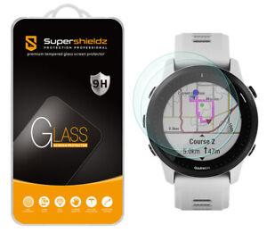 2X Supershieldz Tempered Glass Screen Protector for Garmin Forerunner 945 LTE