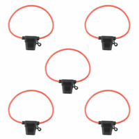 5pack 12AWG ATC/ATO 30AMP Automotive Water-Resistant Inline Fuse Holder Blade CA