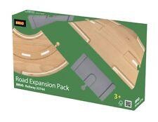 BRIO Wooden Road Expansion Pack Train Set