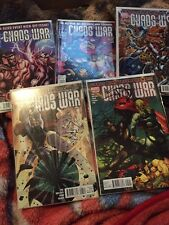 CHAOS WAR #1-5 COMPLETE SET 2010 VF/NM
