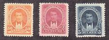 Ecuador - 1895 - SC 52-54 - H - High values