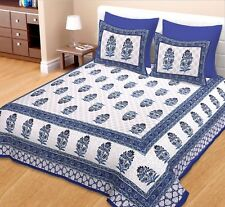 King Size Cotton Bed Sheet Bed Cover Bedspread Throw  Bed Home Decor