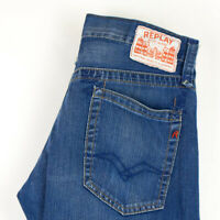 Replay Hommes Jeans Jambe Droite Taille W31 L32 AFZ534