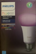 Philips Hue Single Premium Smart Bulb White And Color Ambiance A19