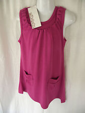 BNWT Myer Milkshake Brand Girls Sz 4 Pretty Pink/Ruffle Sleeveless Summer Dress