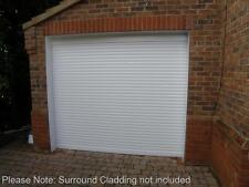 Fixed Size White Roller Garage Door Total 2440mm X 2135mm
