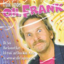 Frank Zander - Oh, Frank - CD NEU Best Of Hier kommt Kurt - Oh Susi - Englein ..