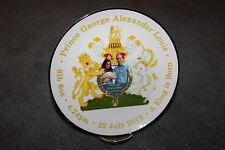 "Royal Baby Prince George Alexander Louis 8"" Display Plate/stand - NEW  MUST L@@K"