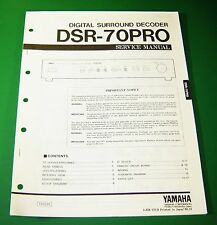 Original Yamaha DSR-70PRO Service Manual