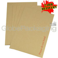 100 x C4 A4 Board Back Backed Envelopes 324x229mm PIP
