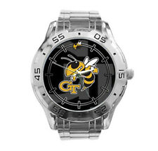 GA Tech Yellow Jackets NCAA Stainless Steel Analogue Men's Watch Gift
