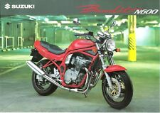 Suzuki GSF600 GSF600N N600 GSF 600 Bandit 1995 1996 UK sales brochure English