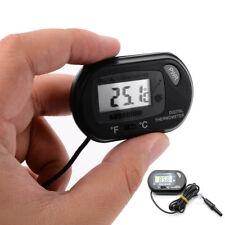 Lcd Digital Thermometer For Home Fish Tank Reptile Aquarium Freezer Water Meter