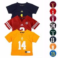 NCAA Official Replica Football Jersey Collection By Adidas New Born Size (3M-9M)