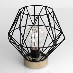 Grundig LED Deko Leuchte Lampe Tischlampe Tischleuchte Retro Nachttischlampe