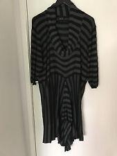 City Chic Black and Grey knit winter dress XL
