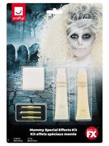 Halloween Make Up Special FX Mummy Face Paints Fancy Dress Accessory New