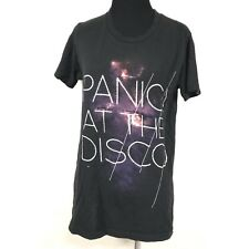 PANIC AT THE DISCO BLACK GRAPHIC SHORT SLEEVE T SHIRT SIZE SMALL HOT TOPIC